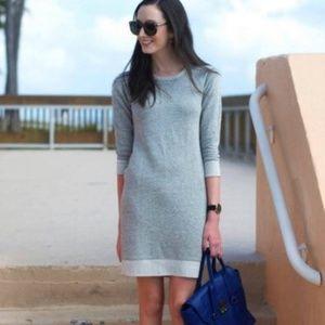 J. Crew Factory Grey Sweatshirt Dress XL